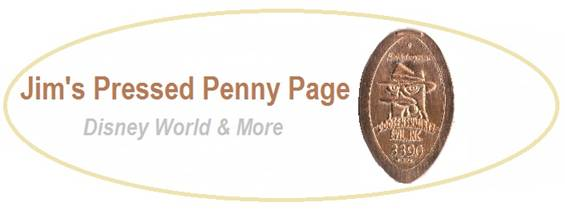 Tips for rolling pennies at Disney World, including locations of